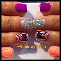 Instagram by Nailsbynivea #nails #nailart