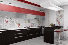 Коллекции керамической плитки в дизайне ванной и кухни