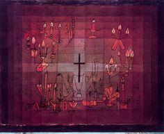 'Domestic Requiem' by Paul Klee (1879-1940, Switzerland)