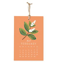2014 Herbs and Spices Calendar