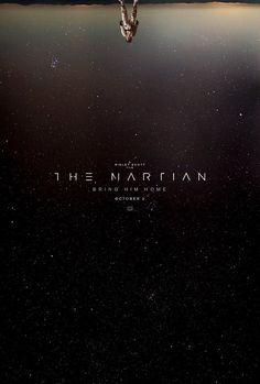 The Martian (2015) The Martian Movie Poster. Matt Damon. Dir. Ridley Scott