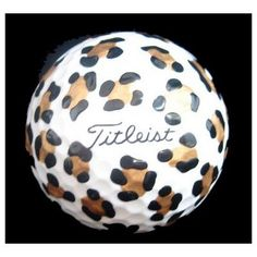 I should have done this to my golfballs when I played golf!