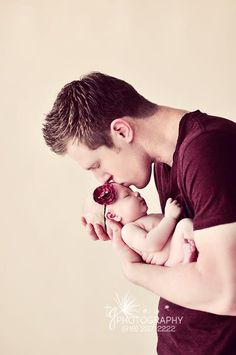 most precious thing ever. Daddy and child