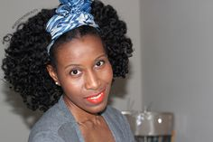 Bantu knot out natural hairstyle. #OfficiallyNatural #BantuKnotOuts #NaturalHair