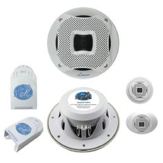 bull the world s catalogue of ideas lanzar aq65cmw 500 watts 6 5 inch 2 way marine component system white