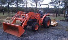 Used Kubota L3400 Tractor
