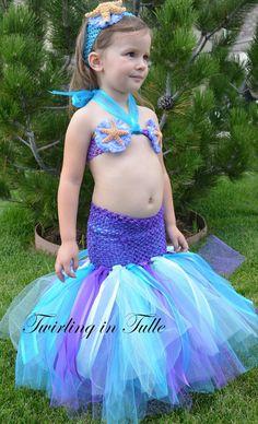 Soo Perf For Our Queen!! Mermaid Halloween Costume Tutu