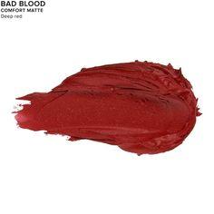 Vice Lipstick in color BAD BLOOD (COMFORT MATTE):