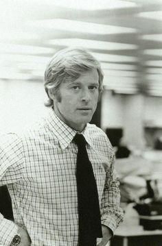 Robert Redford in All the President's Men, 1976