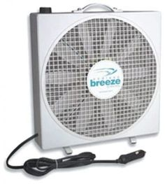 Endless Breeze camper fan by Fan-Tastic is a mult-purpose, lightweight, portable, RV fan. Plug in Endless Breeze and the large volume of air movement will surprise and delight you! Ideal for blowing away bugs on hot muggy nights Bucket Air Conditioner, Portable Dog Kennels, Portable Fan, Rv Parts, Camper Parts, Pet Cage, Camping World, Family Camping, Van Life