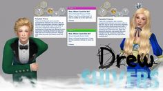Sims 4 Updates: Drew Shivers - Mods / Traits : Custom CAS Trait: Fairytale Prince & Princess, Custom Content Download!