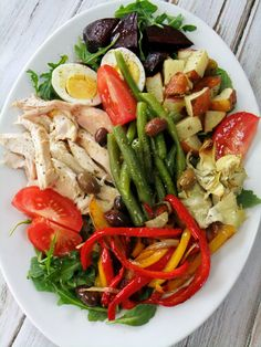 Chicken Nicoise Salad