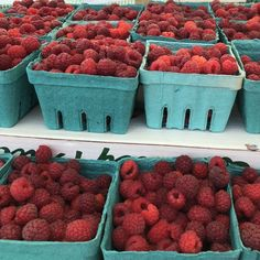 McLean Berry Farm, Buckhorn Ontario at the Lakefield Farmers Market Raspberry, Strawberry, Country Cooking, Food Preparation, Fine Dining, Farmers Market, Ontario, Cravings, Berries