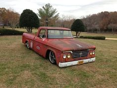 Cool old shop truck...