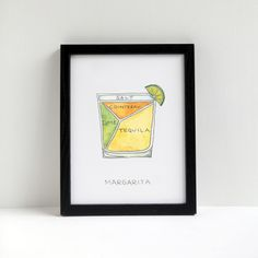 The mimosa. Champagne, orange juice combine to make the breakfast drink of champions. (well, maybe tied with the bloody mary) This is a print of an. Paloma Cocktail, Sour Cocktail, Margarita Cocktail, Cocktail Book, Bloody Mary, Bourbon, Whiskey Sour, Meat Art, Sweet Cocktails