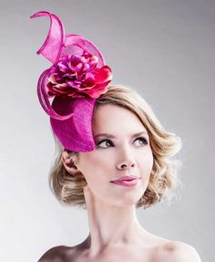 ALBUM: ELLA GAJEWSKA FASCINATORS - All Ella Gajewska designs are handmade and hand-shaped with enormous passion and love. #millinery #fascinator #HatAcademy