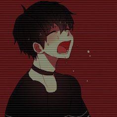 Me recuerda a alguien.no seh xd Cute Anime Boy, Sad Anime, Kawaii Anime, Anime Guys, Manga Anime, Anime Art, Anime Boy Crying, Vaporwave Anime, Persona Anime