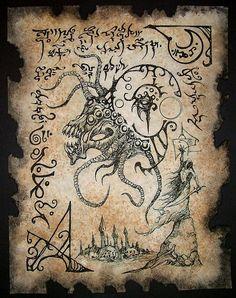 Demon Summoner Necronomicon Fragment