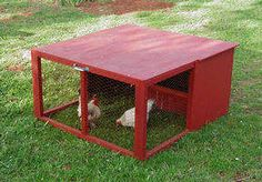 website with pictures of tons of chicken tractors and chicken coops. Let's start building!