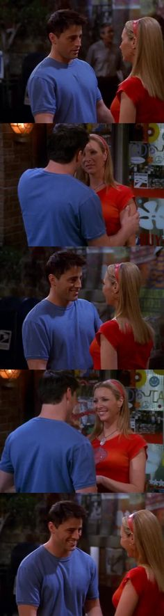 il loro baciooooo😍😍😍😍 li shippo troppo!! *-* Joey e Phoebe💕💕