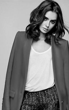 Lily Collins for Marie Claire Taiwan