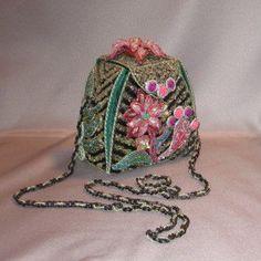 Numbered Mary Frances Vintage Floral by heidibartonoriginals, $ 149.00