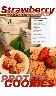 Arbonne Protein, Arbonne Detox, Arbonne Nutrition, Healthy Living Recipes, Clean Eating Recipes, Healthy Eating, Protein Cookies, Protein Foods, Protein Recipes