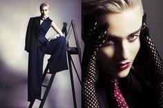 Marina Alonso #model #fashion #magazine #editorial #photographer #blonde #trendy www.hervasarcher.com