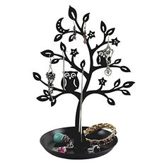 Cut Out Metal Owl Tree Jewelry Stand with Removable Tray ... https://www.amazon.com/dp/B007GG9H6O/ref=cm_sw_r_pi_dp_x_D3c1zbQ89VST2