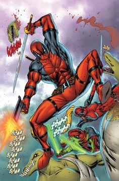 #Deadpool #Fan #Art. (Deadpool) By:Rob Liefeld. (THE * 5 * STÅR * ÅWARD * OF: * AW YEAH, IT'S MAJOR ÅWESOMENESS!!!™) [THANK U 4 PINNING!!!<·><]<©>ÅÅÅ+(OB4E)