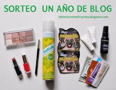 sorteo belleza cosmética y mas un año de blog