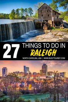 Wondering what to do in Raleigh, NC? This travel guide will show you the top attractions, best activities, places to visit fun things to do in Raleigh, North Carolina. Start planning your itinerary bucket list now! North Carolina Vacations, Raleigh North Carolina, North Carolina Attractions, North Carolina History, North Dakota, South Carolina, Usa Travel Guide, Travel Usa, Travel Tips