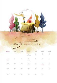 2013 calendar May/Mai
