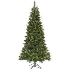 7.5' Jack Pine Slim Artificial Christmas Tree - Unlit
