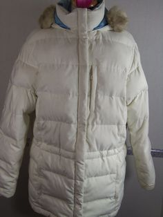 Ralph Lauren Mountain Expedition Coat Medium Ivory Down fill Feathers/Poly  #RalphLauren #Puffer
