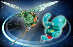 'Bee Striker' (ビーストライカー Bīsutoraikā) is a wasp-like Bakugan. Bee Striker is a massive Bakugan...