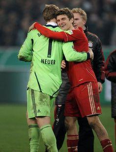 #Manuel Neuer #Thomas Müller