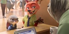 Zootopia Trailer: Judy and Nick Hit Sloth Hour - http://screenrant.com/zootopia-trailer-sloth-2016/
