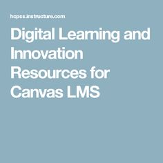 32 Best Canvas LMS images in 2017 | Canvas, Canvas