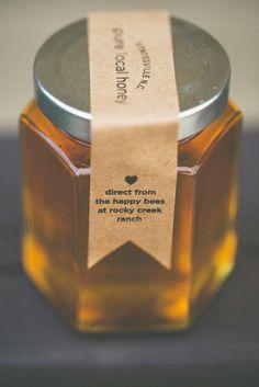 E + B // // Rocky Creek Ranch, North Carolina – photography by www. Hives And Honey, Honey And Co, Honey Shop, Honey Jar Labels, Honey Label, Honey Jars, Honey Logo, Honey Brand, Tupelo Honey