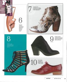 Summit white mountain shoes in Footwear News March 2016