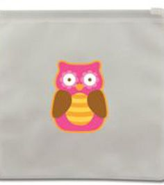 Reusable Snack Bags  Owl