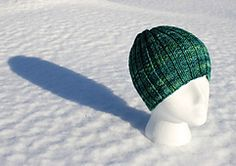 Easy Wribbed Hat pattern by Joan Janes - free on Ravelry