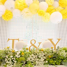 Lovely reception in Yellow Wedding Notes, Wedding Cards, Diy Wedding, Yellow White Wedding, Rustic Wedding Inspiration, Wedding Table Settings, Deco Table, Flower Bouquet Wedding, Wedding Coordinator