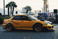 Rumblebee STI in Yellow on Copper KF-001