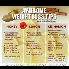 Lemon/Honey/Cinnamon