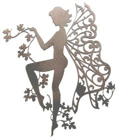 Fairy decal for motorcycle