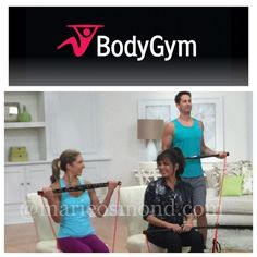 Mindy Buxton, Marie Osmond, and TJ Buxton at QVC with the BodyGym
