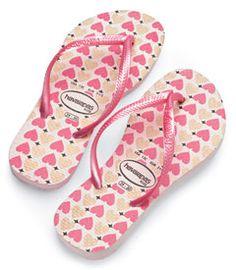 hearts + flip flops