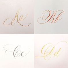 ello, I'm Esther, calligrapher… Flourish Calligraphy, Copperplate Calligraphy, Calligraphy Practice, Calligraphy Alphabet, Calligraphy Fonts, Modern Calligraphy, Penmanship, Typography Love, Hand Lettering Fonts